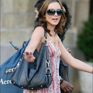 Rebecca Minkoff Nikki Hobo Bag Black Leather